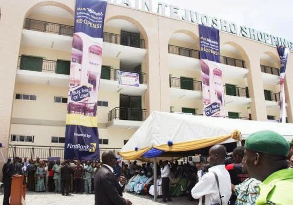 2 Fashola Commissions Newly Built Tejuosho Market (Photos)